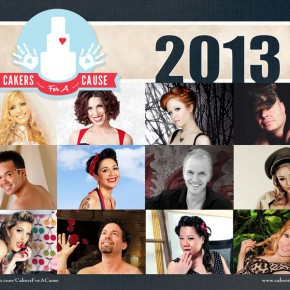 2013 Cakers for a Cause Calendar
