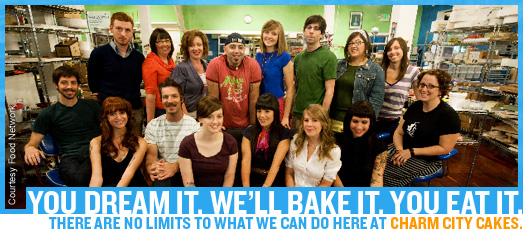 Charm City Cakes Staff Photos
