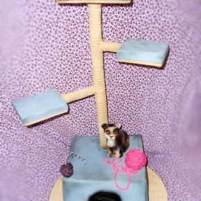 kitten party cake for danielle